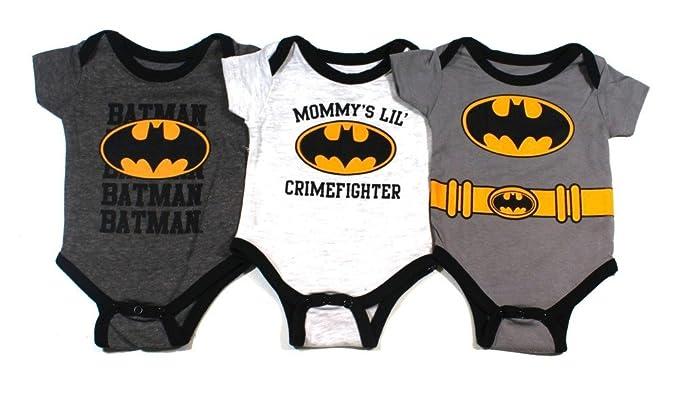 Amazon.com: KWC Batman - Conjunto de trajes de bebé para ...
