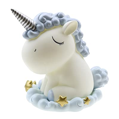 SINDBIN Cute Unicorn Piggy Bank Saving Bank Home Decorative Toy Coin Bank for Children