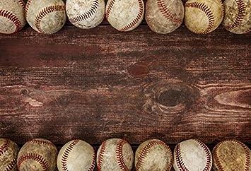 Amazon Com Ofila Retro Baseball Backdrop 7x5ft Sports Game