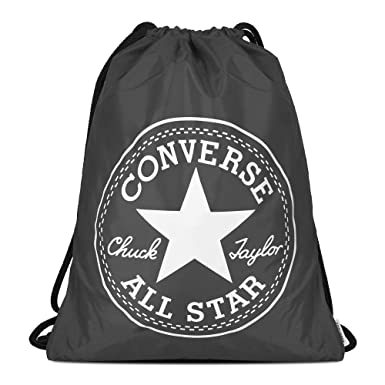 52d49bb8dd Converse Unisex Gym Cinch Bag Charcoal  Amazon.co.uk  Clothing