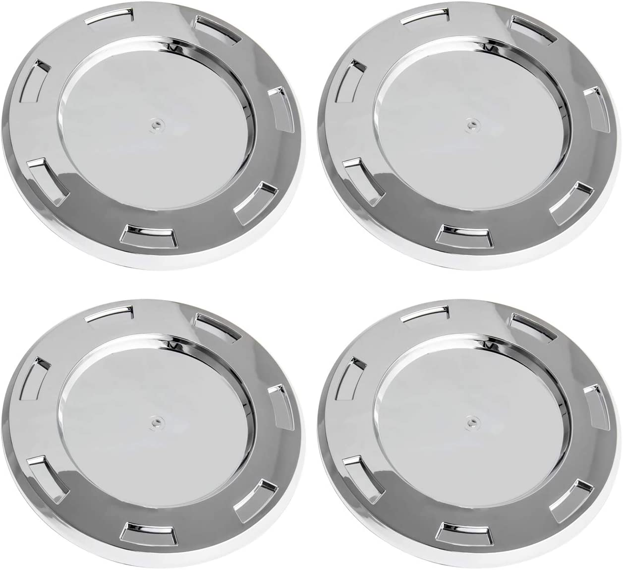 B4B BANG 4 BUCK 4 Packs 22 7 Spoke Wheel Center Hub Cap Chrome with Ring Replacement 9596649 Compatible with Cadillac Escalade 2007-2014