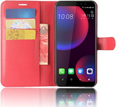SPAK HTC U11 EYEs Funda,Ultra Slim PU Leather Flip Cubierta con ...