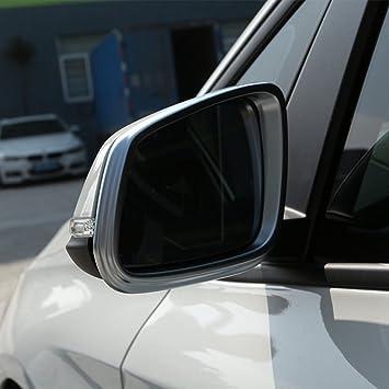 2 pcs/Set Accesorios para auto ABS cromado lateral marco de espejo de visión trasera
