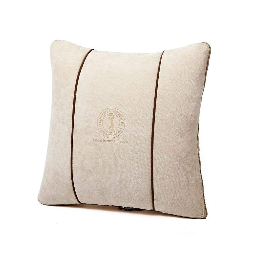 Throw Pillows Pillows Pillows Grey Pillows Cushions Square Pillows Business Pillows Quilts Dual-use Car Cushions are Office Cushion Pillows Creative Cars Thick Cotton Air Conditioner