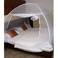 Classic Mosquito Net Foldable (White-Premium) (Size-Double)