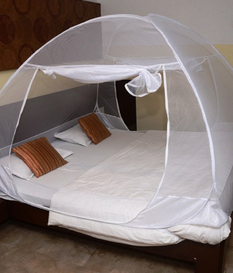 Classic Mosquito Net Foldable (White-Premium) (Size-Double) product image
