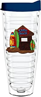 product image for Smile Drinkware USA-SURF SHACK 26oz Tritan Insulated Tumbler With Lid and Straw
