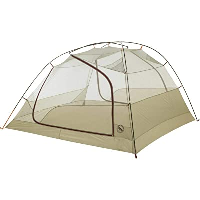 RT One Size Olive Green HV UL4 Copper Spur 4-Person 3-Season Camping Tent: Garden & Outdoor
