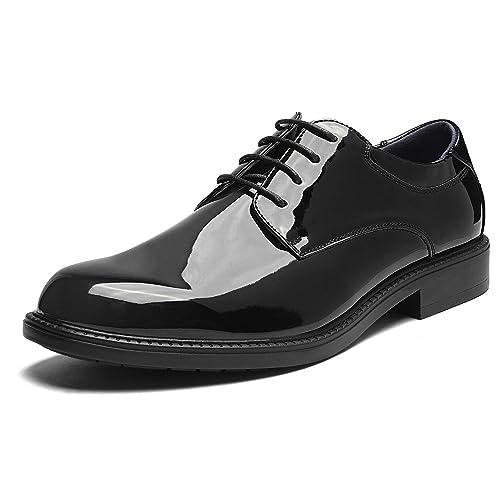 Bruno Marc Downing-02 Zapatos de Cordones Oxfords Vestir Clásico Formales Derby para Hombre