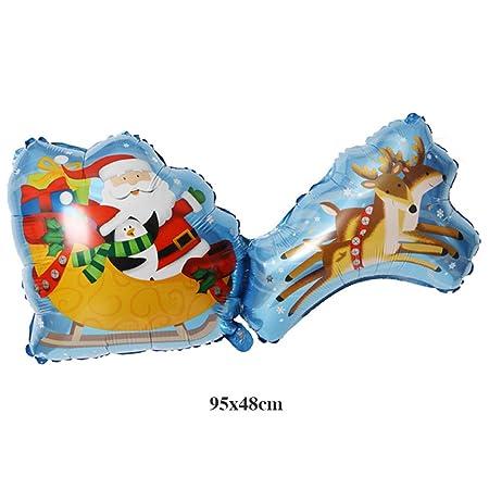 jkfui - Globos para árbol de Navidad (hinchables), diseño de ...