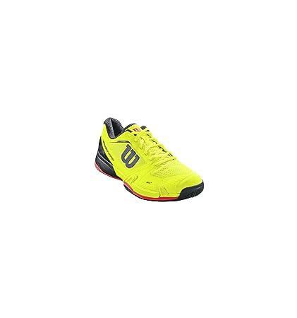 Zapatos wilson hombre Rush Pro 2.5 amarillo neón/rojo/negro ...