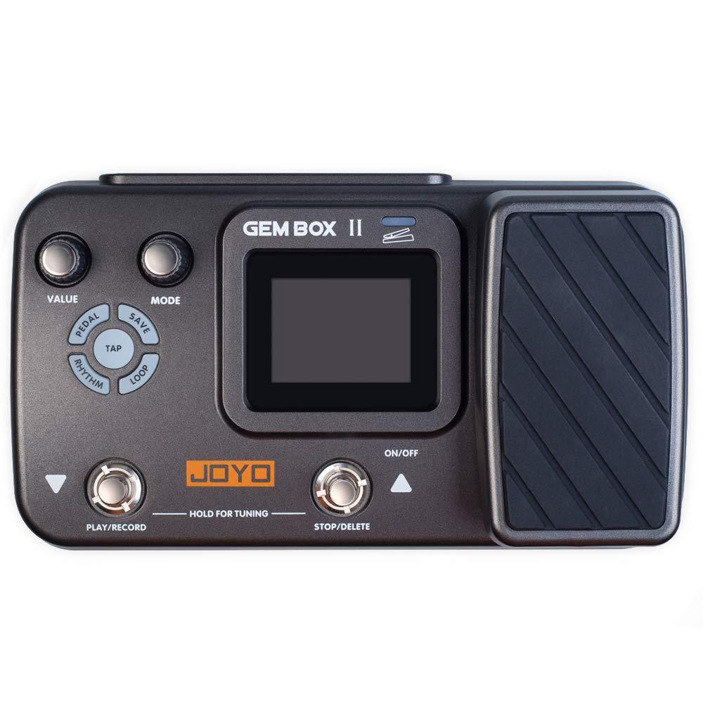 JOYO GEM BOX II Multi Effects Processor, Multi Effects Guitar Pedal, Guitar Accessories of 66 Effects Multi Pedal