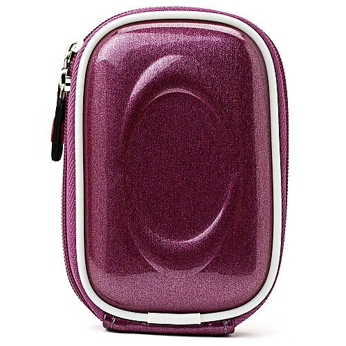 Compact Camera Nylon/Eva Case For Nikon Coolpix S5300 S6300 S6400 S6500 S6700 S6900 S7000 Digital Camera + Determination Hand Strap by eBigValue