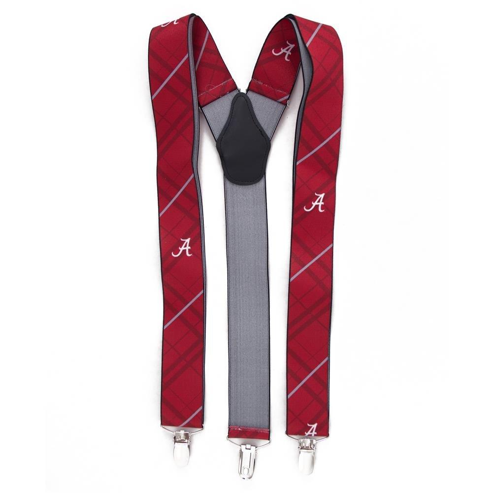 Eagles Wings EAG-8002 Alabama Crimson Tide NCAA Oxford Mens Suspenders