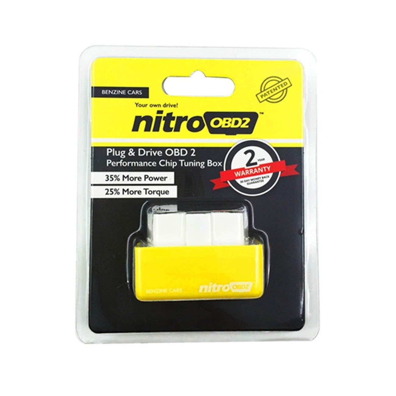 Elviray Nitro-OBD2 Einschicht-Leiterplatten-Kraftheber f/ür Kraftfahrzeuge
