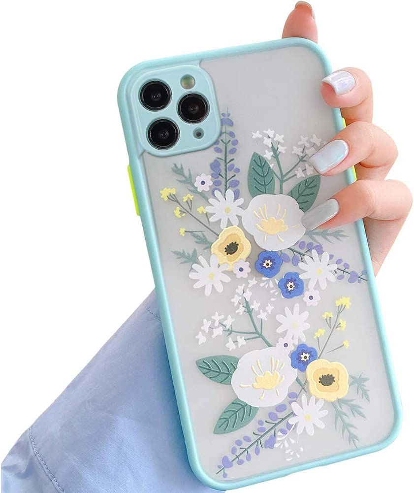 FLORAL Phone Case for Iphone Navy and Pink Floral Print Iphone Case