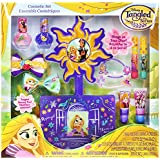 Townley Girl Disney's Tangled Cosmetic Set for Girls, Nail Polish, Lip Gloss, Hair Bows, Hair Clips and more