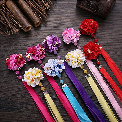Antique Chinese Tang Dynasty costume jewelry silk ribbon dress tassel hairpin clip hairpin headdress Comic Con Photo for women girl lady