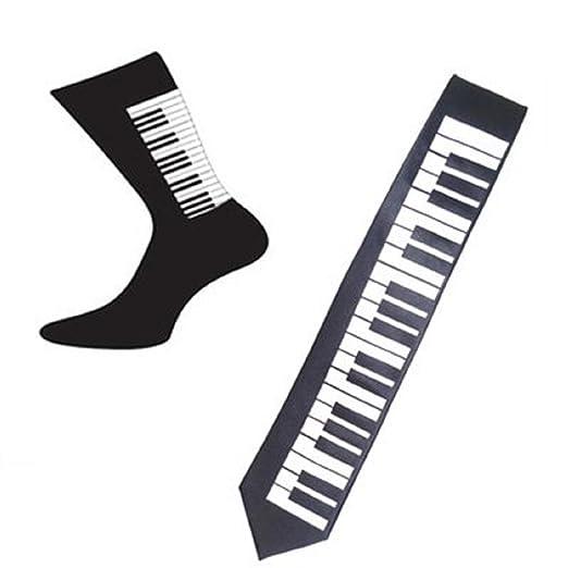 OWN MAKE Par de Piano diseño algodón Rico Calcetines y Piano ...