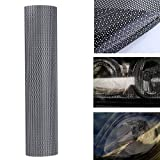 AUDEW 106 x 28 cm Tinting Perforated Mesh Film Fly-Eye Legal Tint Headlight Rear Light