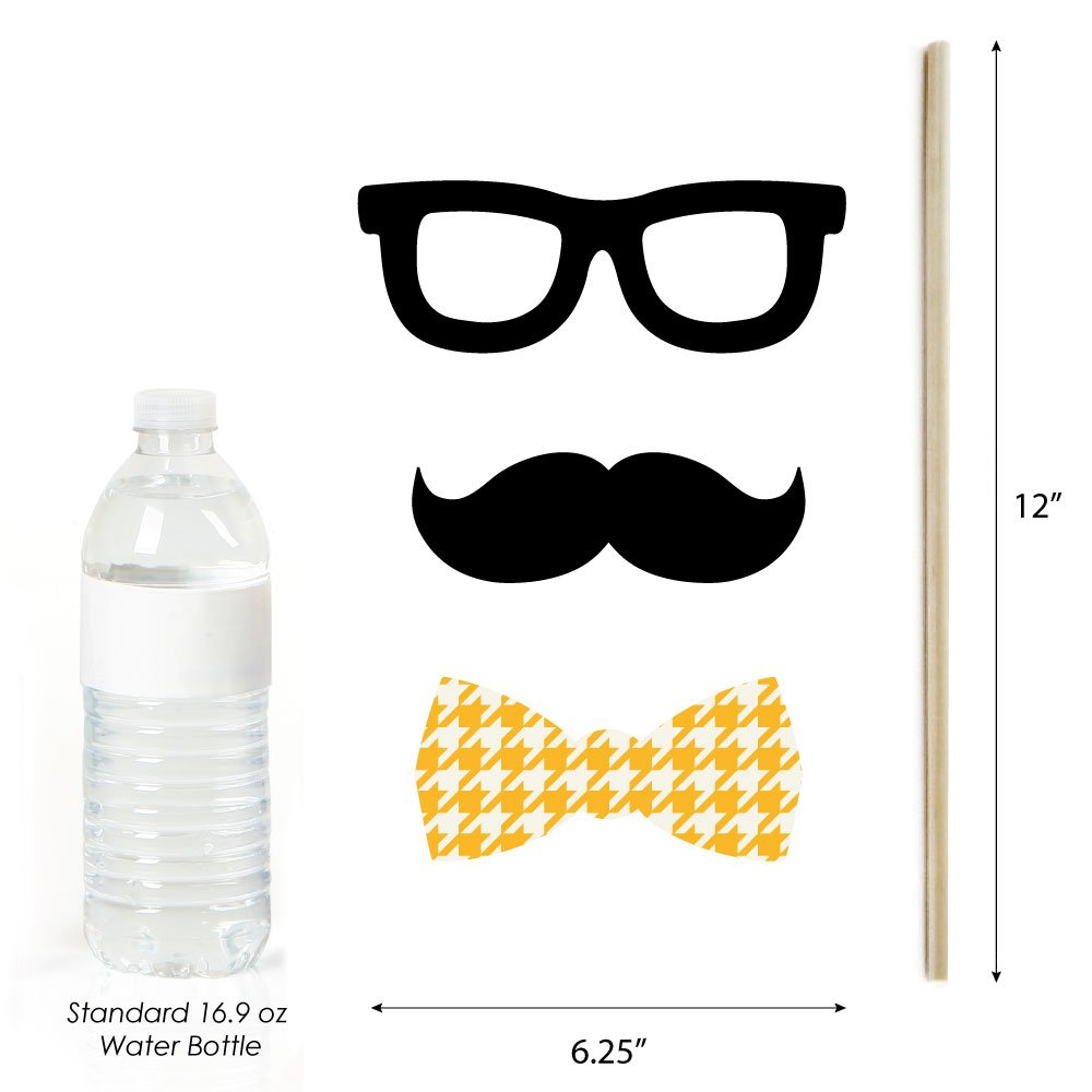 Big Dot of Happiness Ready to Party - Photo Booth Props for Kids - 20 Count by Big Dot of Happiness (Image #5)