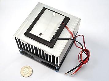 Mini Kühlschrank Mit Peltier Element : V peltier element thermo elektrischer kühler amazon