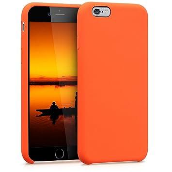 coque iphone 6 silicone orange