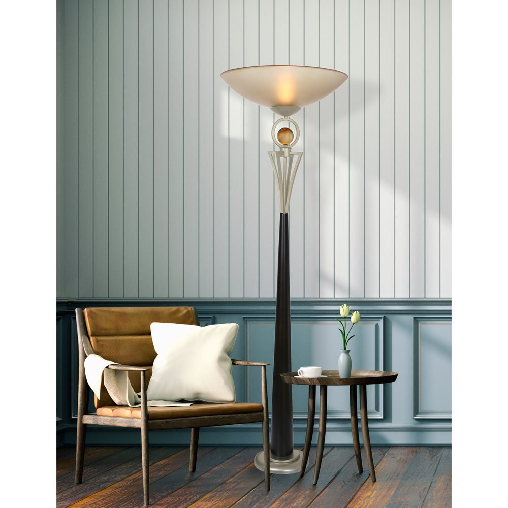 Van Teal 130481 Anniversary You Will Remember Torchiere, Café Noir/Silver Jacobean by Van Teal (Image #2)