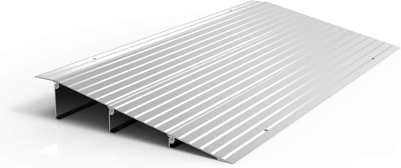 "EZ-ACCESS TRANSITIONS Modular Aluminum Entry Ramp, 3"" Rise"