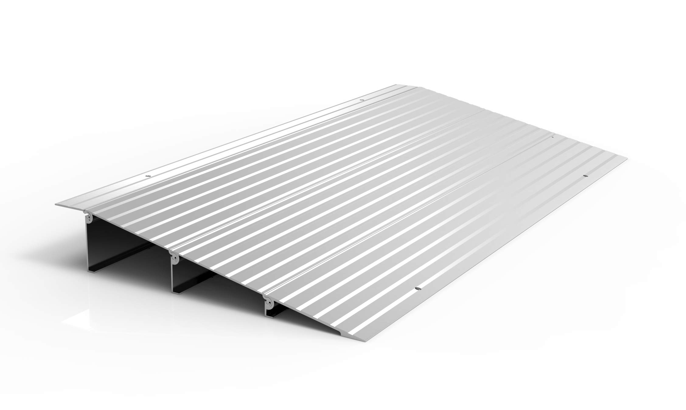 EZ-ACCESS TRANSITIONS Modular Aluminum Entry Ramp, 3'' Rise by EZ-Access