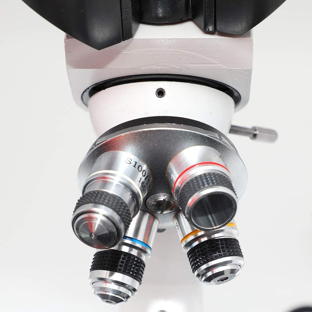 LIMEI-ZEN Microscope XP203 Trinocular Microscopes Biological 40X-1600X Educational Science Lab School Student Kids Children