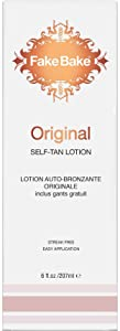 Fake Bake Self Tanning Lotion Original Formula | Tanning Solution with Fast Acting Results | Streak Free Easy Application | 6 fl oz