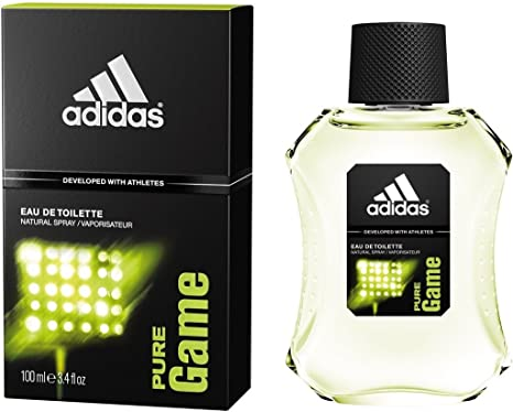 buy popular 7c037 bfba6 Buy Adidas Pure Game Eau de Toilette For Men, 100ml Online at Low Prices in  India - Amazon.in