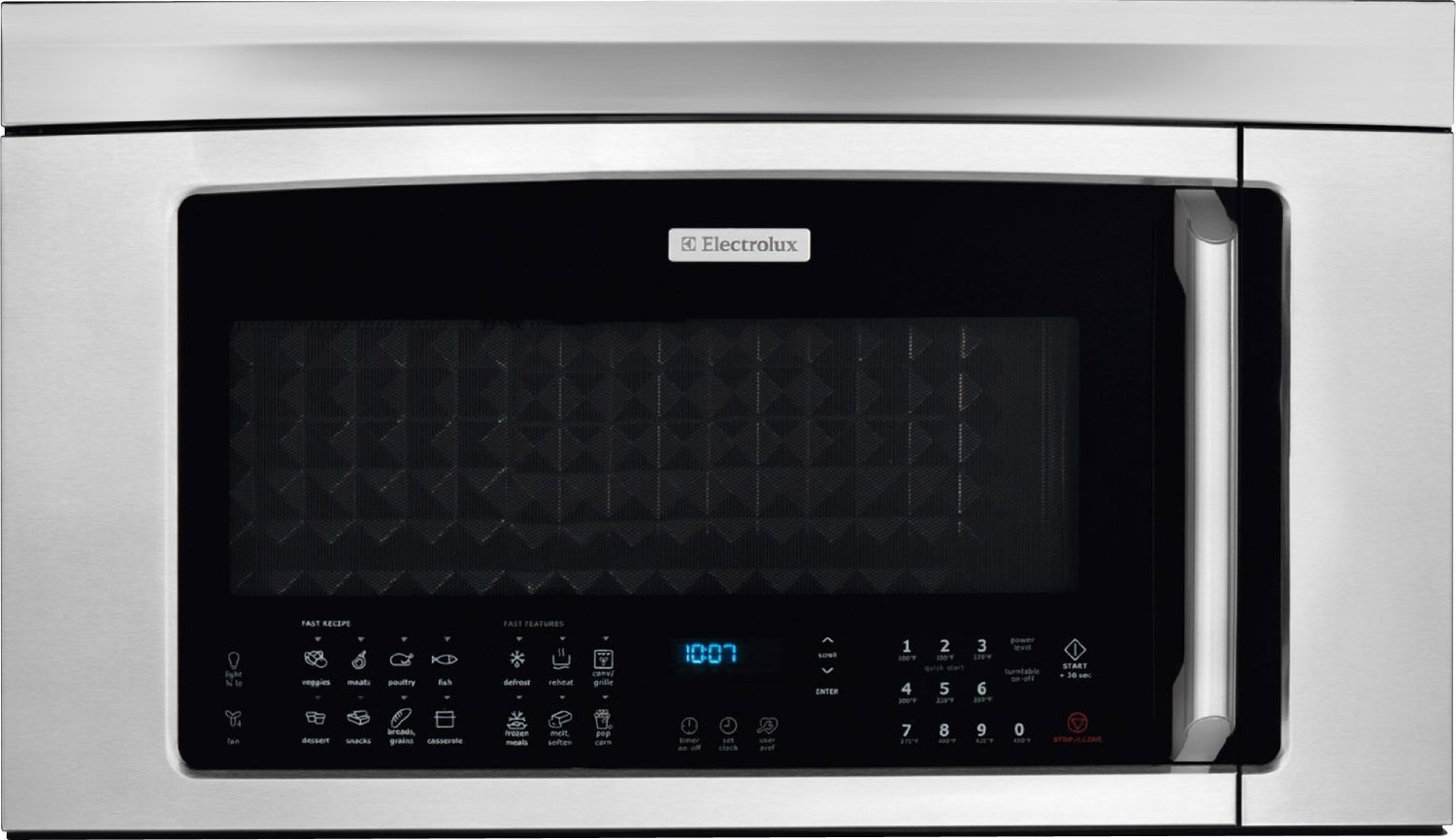 Electrolux EI30BM60MSIQ-Touch 1.8 Cu. Ft. Stainless Steel Over-the-Range Microwave - Convection by Electrolux