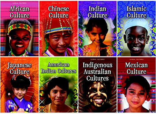 Capstone Press Global Cultures Book Set, Grades 4 to 6 from Capstone