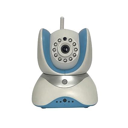 Cámara de vigilancia HD IP Cámaras Monitor Vídeo Grabación mando a distancia Control directo blanco funda