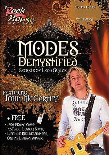 Modes Demystified: Secrets of Lead Guitar [Instant Access]