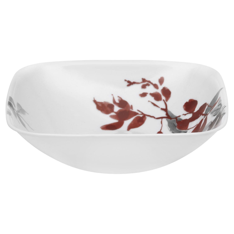 Corelle Boutique Kyoto Leaves Square 1.5 Quart Serving Bowl (Set of 4)
