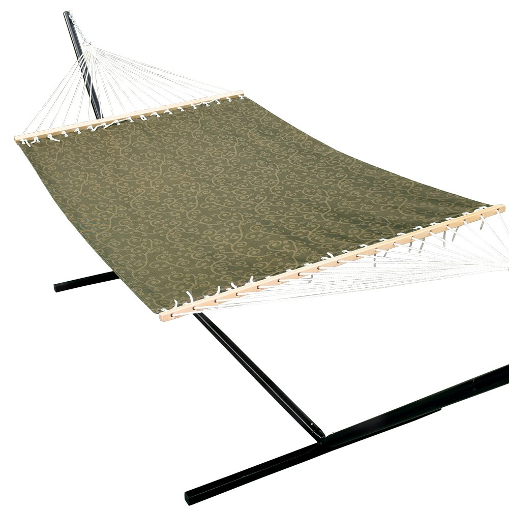 Prime Garden 13 FT Poolside Hammock, Waterproof and UV Resistance, 450 lbs, including a Chain Hanging Kit, Dark Grey
