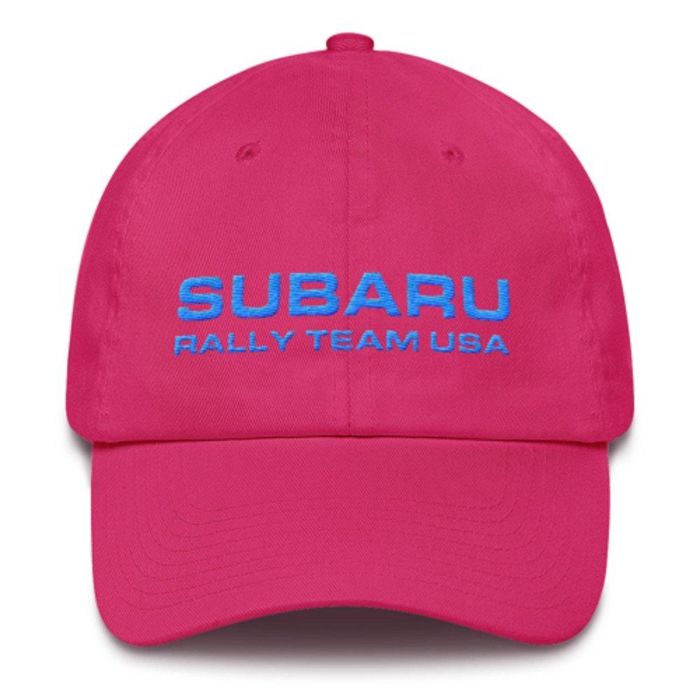 Subaru Rally Team USA SRTUSA Cotton Baseball Cap Hat Cotton Twill