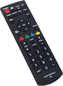N2QAYB000221 Replace Remote Control fit for Panasonic Viera Plasma LCD TV HDTV TC-26LX85 TC-32LX85 TC-37LZ85 TQB2AA0775 TY-WK32LR2W TH-42PX80 TH-50PX80 TH-42PX80U TH-50PX80U TC-37LZ85X TH-42PZ80