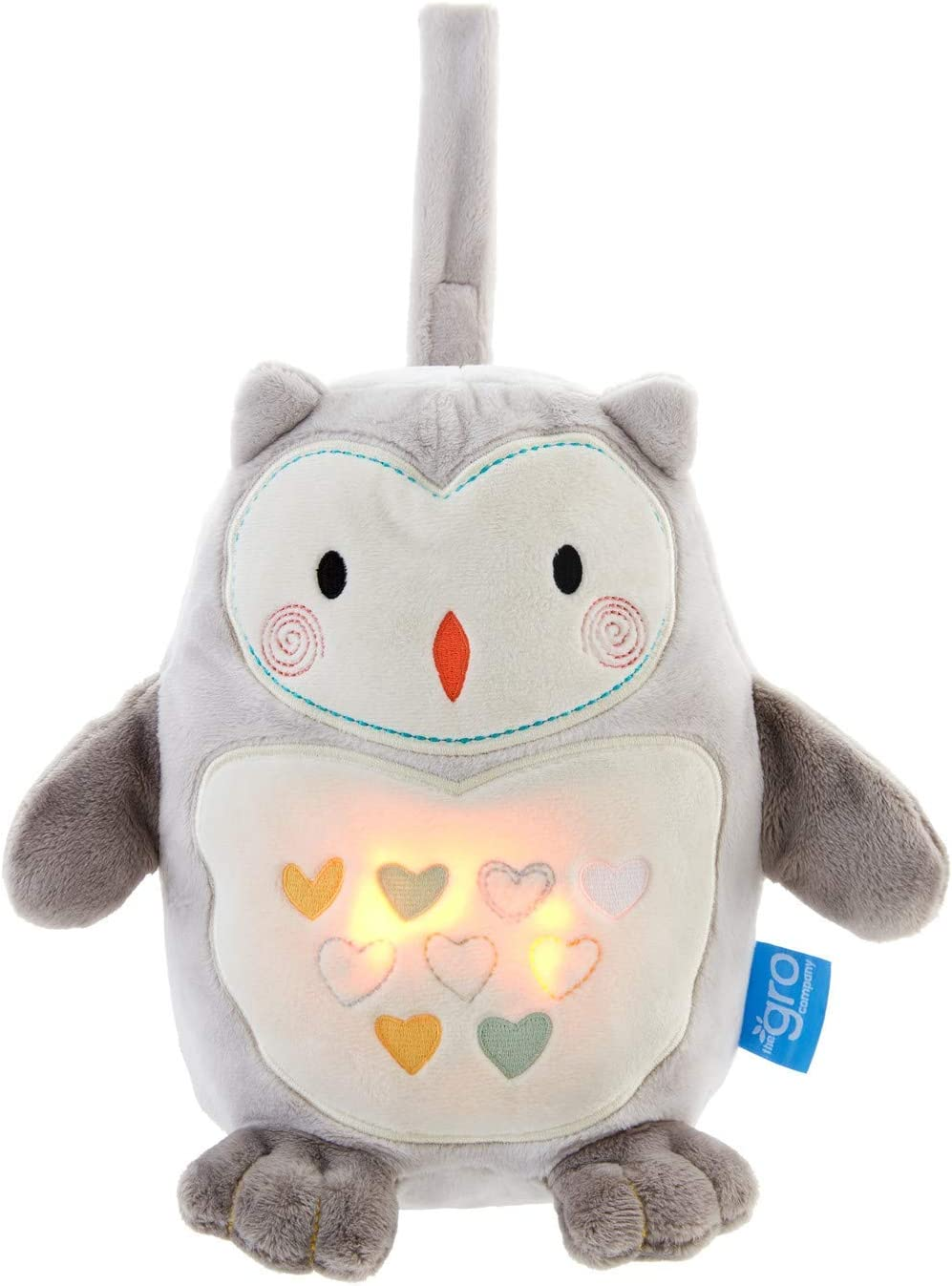 Tommee Tippee, Grofriends, Ollie el Búho - Peluche Duermebebés con Sensor de Llanto