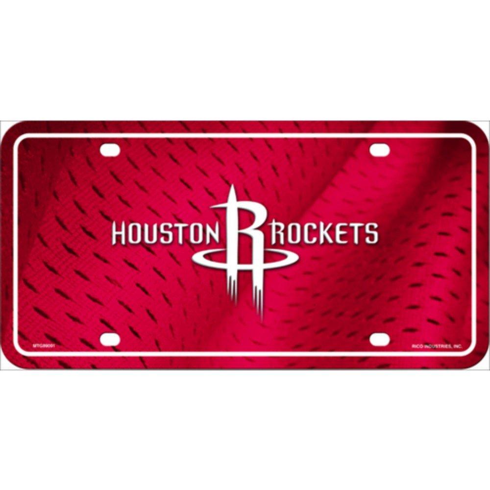 Smart Blonde Houston Rockets NBA Embossed Novelty Vanity Metal License Plate Tag Sign