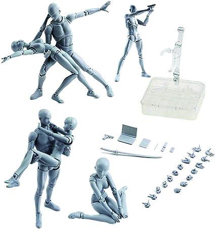 Body Figma She//he S.H.Figuarts SHF kun DX SET PVC Body-Chan DX Action Figure Toy
