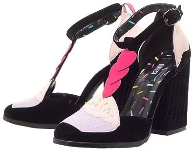 a148cb08d6e02 Amazon.com   Iron Fist Women's Bakers Dozen T Bar Platform Shoes ...