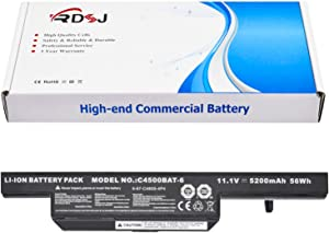 C4500BAT-6 6-87-C480S-4P43 Laptop Battery for CLEVO B4100M B4105 C4500 C4501 C4505 C5105 C5505 W150 W170ER W170HN W250ES B5130M Sager NP2240 NP2252 NP3260 NP5165 NP6175