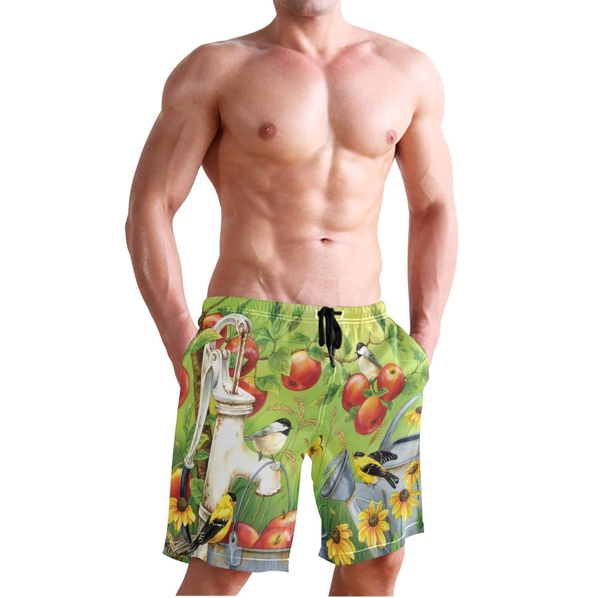 Amazon.com: Pantalones cortos de playa para hombre, estilo ...