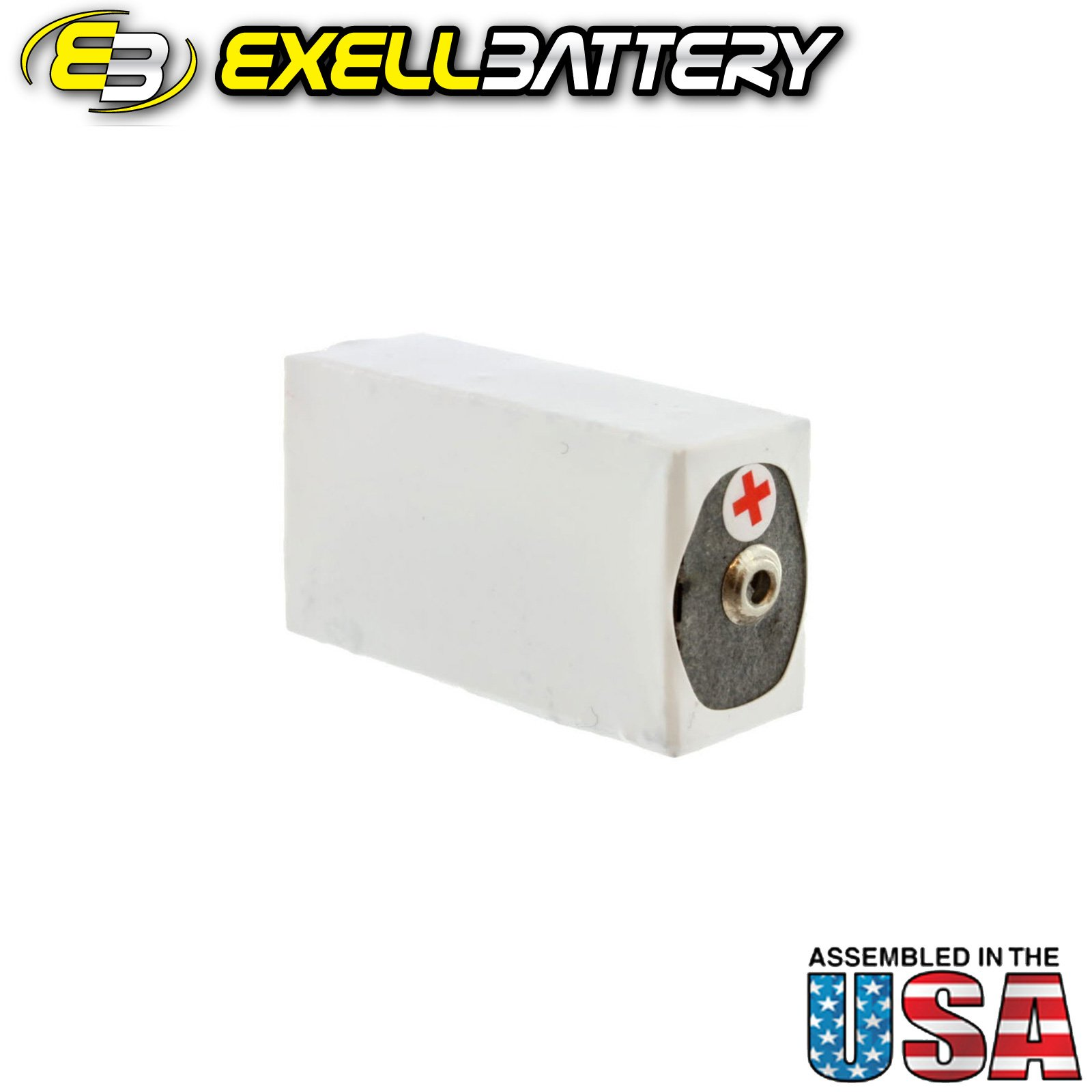 20pc Exell 412A Alkaline 22.5V Battery NEDA 215, 15F20, BLR122 by Exell Battery (Image #3)