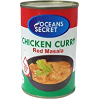 Oceans Secret Chicken Curry - Red Masala 425g (Pack of 4)