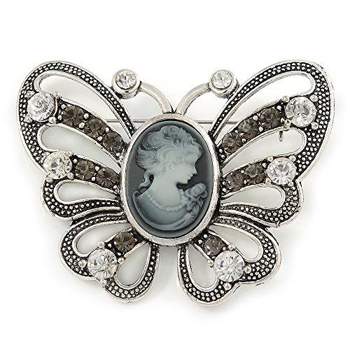 Vintage Sterling Silver Brooch Pin - 5